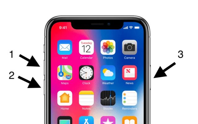 iPhone-X-Hard-Reset-Buttons