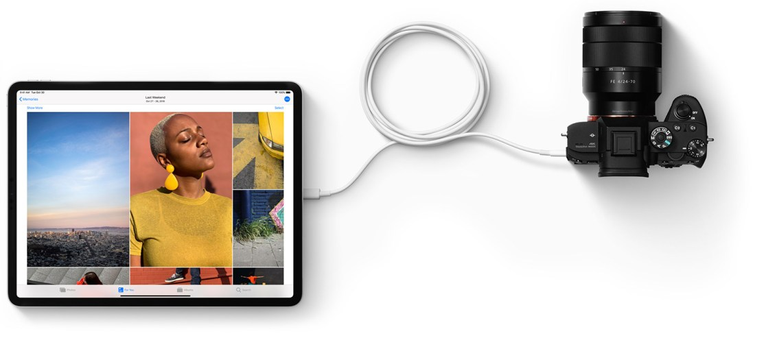 2018-iPAd-Pro-USB-C-camera-connection