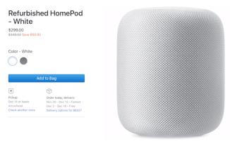 Apple-refurb-HomePod