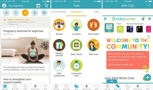 BabyCenter-iPhone-app