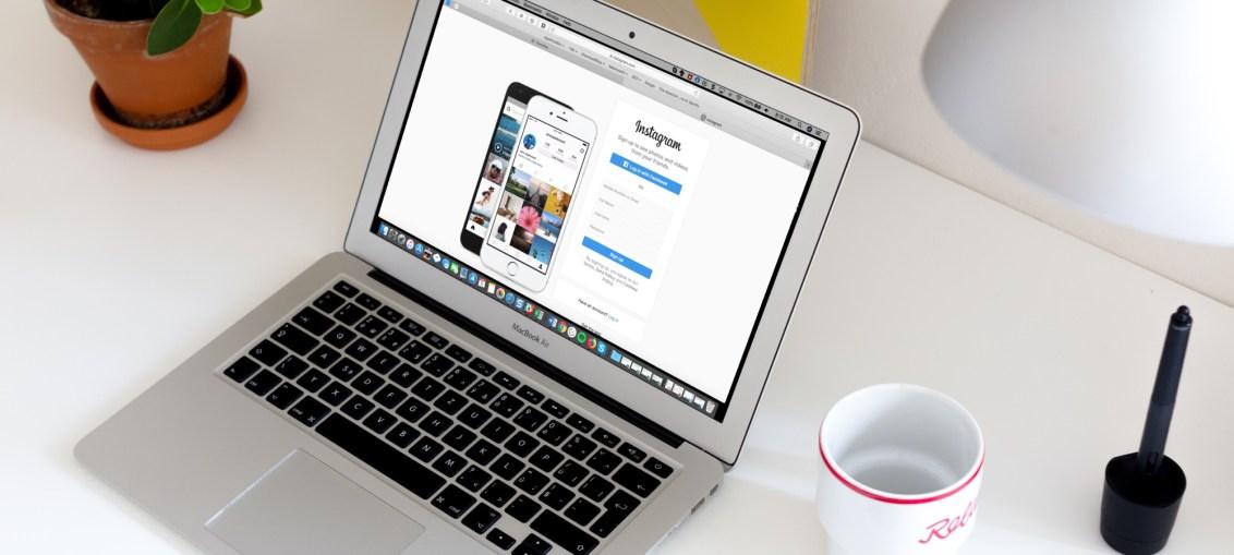 Instagram-in-Safari-on-MacBook