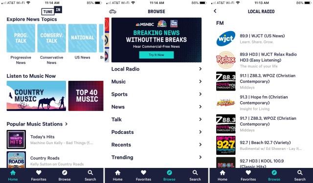 TuneIn-Radio-app-on-iPhone
