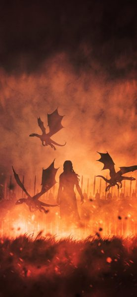 daenerys-targaryen-with-dragons-illustration-d5-1125×2436-iPhone-game-of-thrones-wallpaper-768×1663