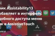 твик Assistability13