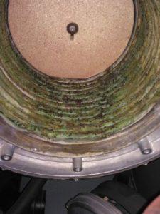 Problème de corrosion dans d'une chaudière gaz