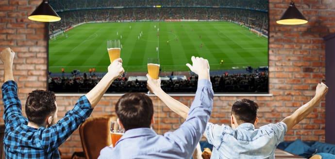 Dansk fodbold-feber sparker fladskærmssalget i vejret