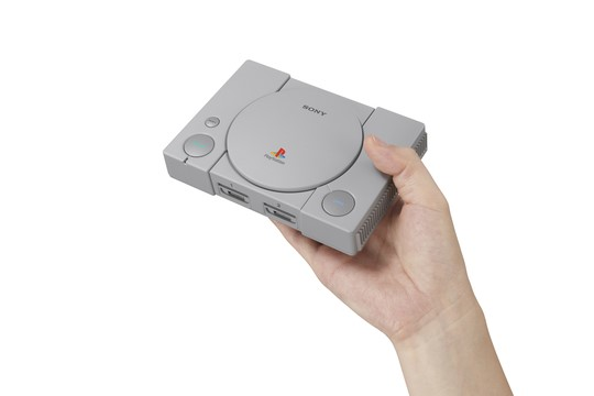 SONY præsenterer PlayStation Classic: Den originale PlayStation 1 i ministørrelse