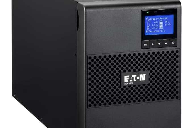 Eaton introducerer 9SX UPS-sortiment til lave belastninger