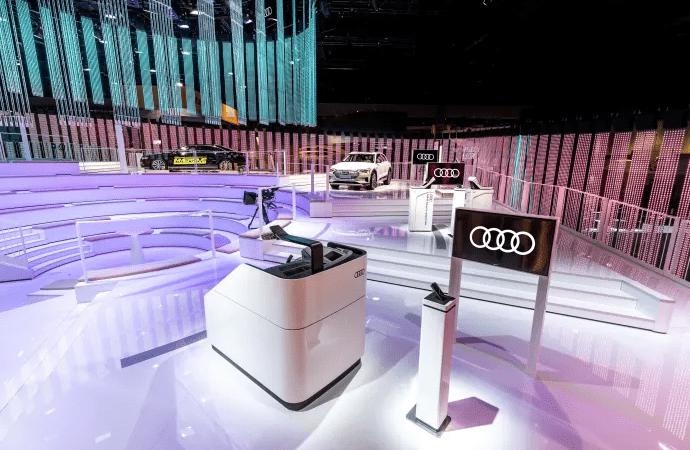 Audi viser innovativ in-car entertainment på CES 2019