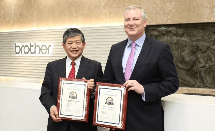 Brother vinder fire nye Awards for fire printere og en scanner