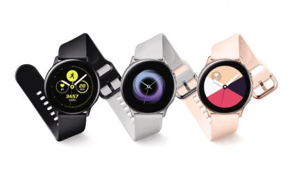 Samsung Galaxy Watch Active kommer nu i butikkerne 1