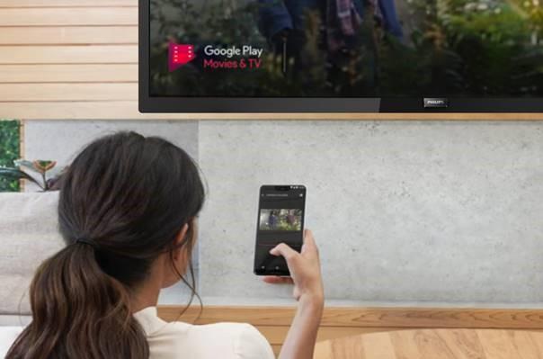 Philips Professional Display Solutions lancerer TV med indbygget Chromecast