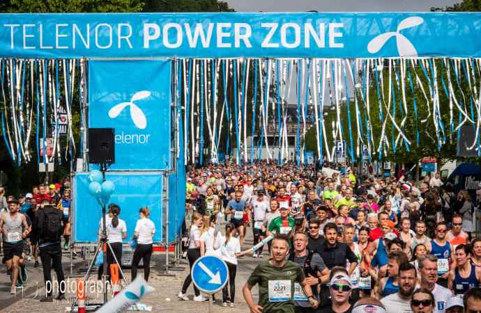 Telenor CPH Marathon: Stor opbakning til de personlige videoer