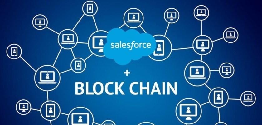Salesforce lancerer den første low-code blockchain platform til CRM
