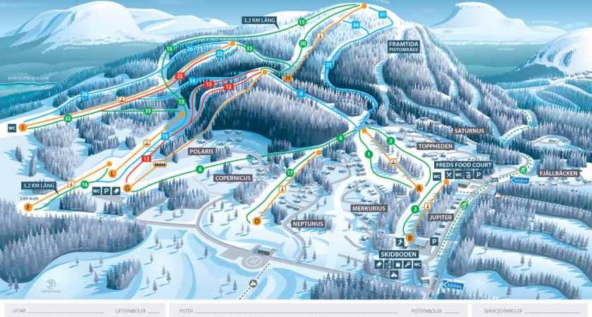 Ny alpin skidestination åbner i Sverige