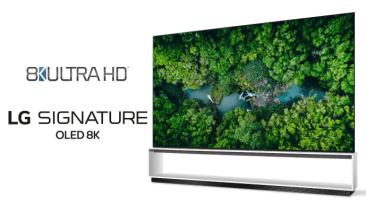 LGs TV'er er først til at overgå den officielle branchedefinition for 8K ULTRA HD-tv'er 1