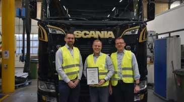 Scania Danmark opnår højeste certificering inden for teknisk support 1