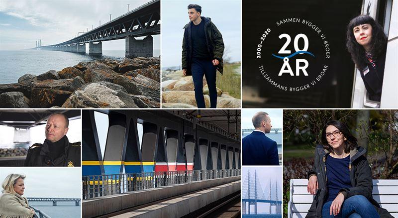 Tillsammans bygger vi broar: Øresundsbrons porträtt av brobyggare lanseras