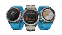Garmin tilføjer solopladning til sin nye quatix 6 marine GPS smartwatch-serie til sejlere