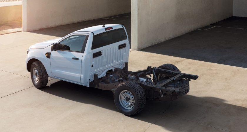 Ford introducerer prisvindende Ranger som opbygningsklar Chassis Cab