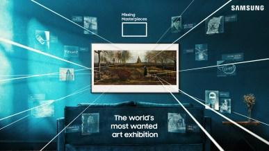 Samsungs digitale kunstudstilling Missing Masterpieces genskaber forsvundne kunstværker 1