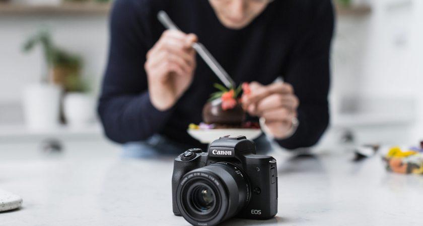 Gør content creation til en leg med det nye EOS M50 Mark II