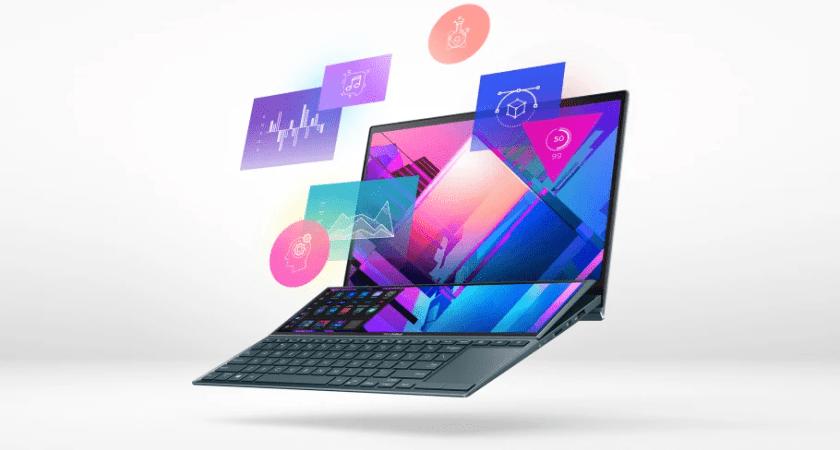 ASUS lancerer ZenBook Duo 14, en bærbar til alle, der har brug for mere plads