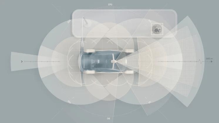 Næste generation af fuldelektriske Volvo-biler får LiDAR-teknologi og en AI-drevet supercomputer
