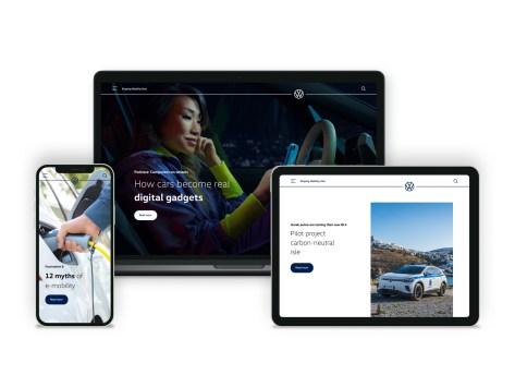 Volkswagen lancerer ny website, der giver detaljeret indsigt i fremtidens mobilitet