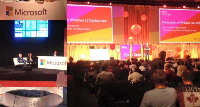 Två full dagar med teknik och över 1600 besökare- på Microsoft Tech Days i Kista