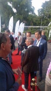 Arrow ECS bjöd in till sommarfest på restaurang på Djurgården 1