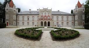 Logi på ett slott i Tjeckien