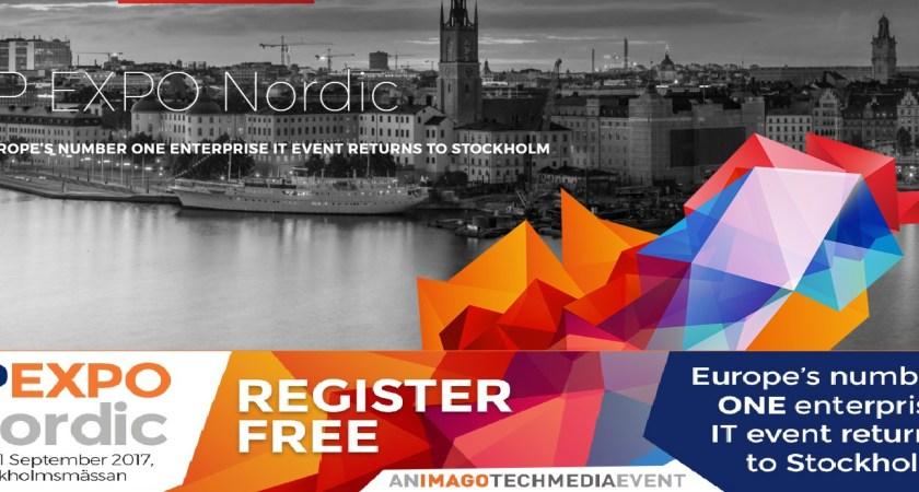 Årets stora it-event, IP EXPO Nordic, fokuserar på it-säkerhet, GDPR och AI