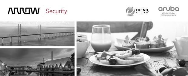 Breakfast at Arrow ECS med Trend Micro & HPE/Aruba 1