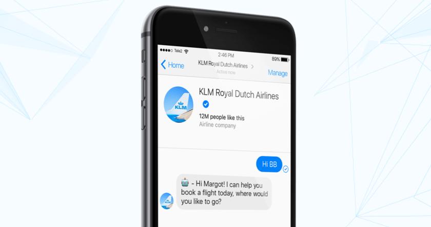 KLM välkomnar BlueBot (BB) till familjen