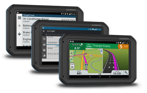 Garmin fleet 700-serien – surfplatta för fleet management och telematics