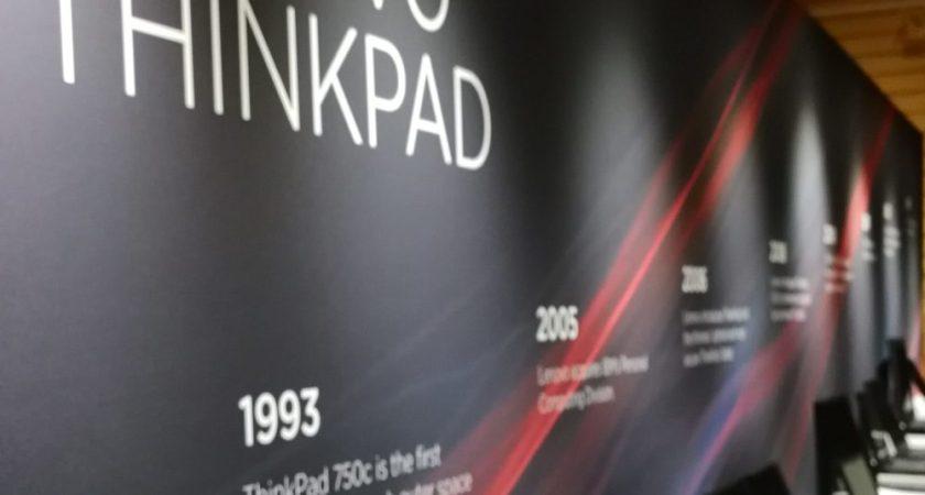 Lenovo ser tillbaka på ThinkPads historia och vad den bidragit till
