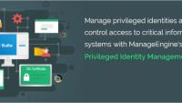 ManageEngine lanserar Privileged Identity Management lösning för identitetsstöld och skydda mot säkerhetshot