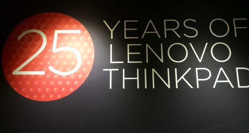 Lenovo ThinkPad firar 25 år – en ikon i IT-branschen