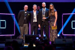 Hewlett Packard Enterprise & HP presenterar vinnarna av Guldmyran 2017 2