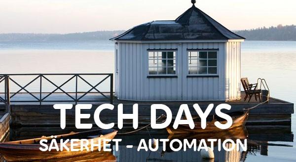 Varmt välkommen på Tech Days 1