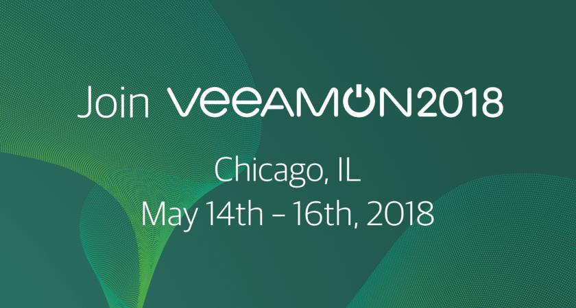 Join VeeamON 2018