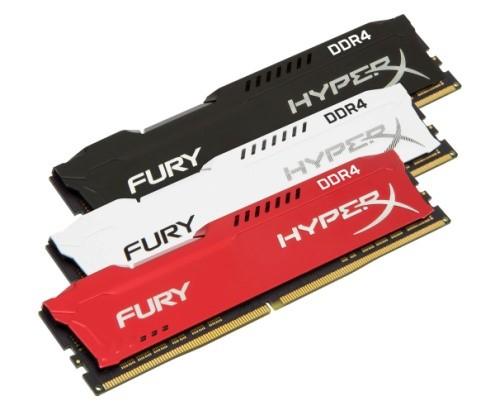 HyperX utökar DDR4-serien med tillskotten FURY DDR4 och Impact DDR4