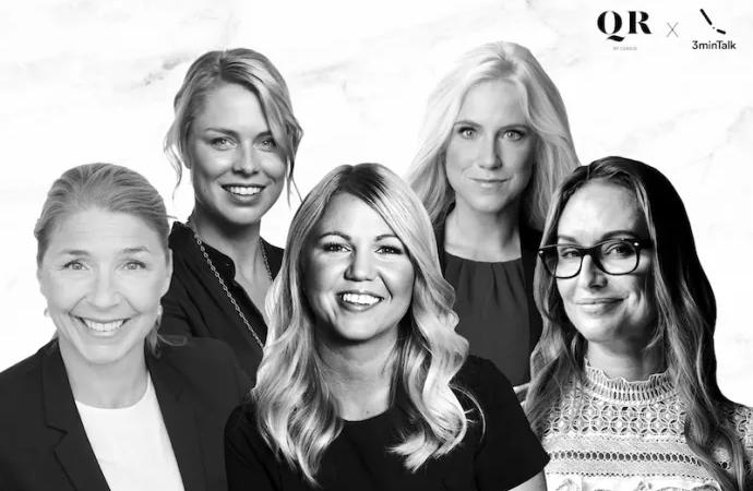 IT-bolag i samarbete med 3minTalk – ska lyfta kvinnliga förebilder genom inspiration