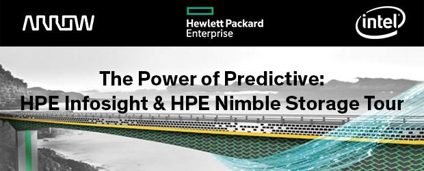 HPE InfoSight & HPE Nimble Storage Tour