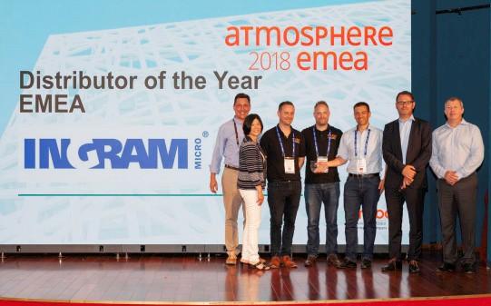 Ingram Micro utsågs till Årets distributör hos Aruba
