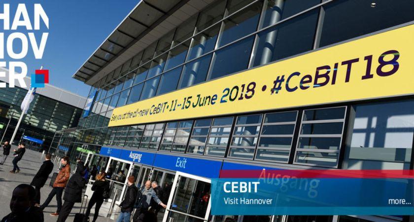 IT-Kanalen besökte gigantiska IT-mässan Cebit på tyska mässan i Hannover