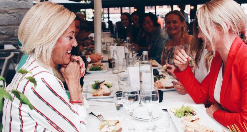 Lunch i Almedalen med fokus på kvinnligt nätverkande