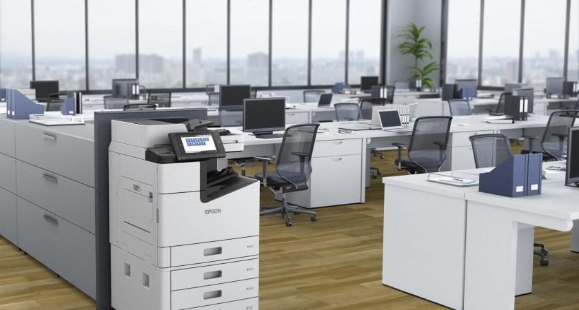 Epsons snabba multifunktionsskrivare säkerhetscertifieras enligt ISO/IEC 15408