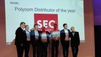 SEC utnämnda till Polycom Distributor of the Year!